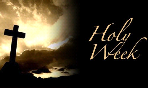 Holy Week Letter From Father Skillman
