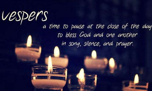 Evening Vespers and Speaker, August 19