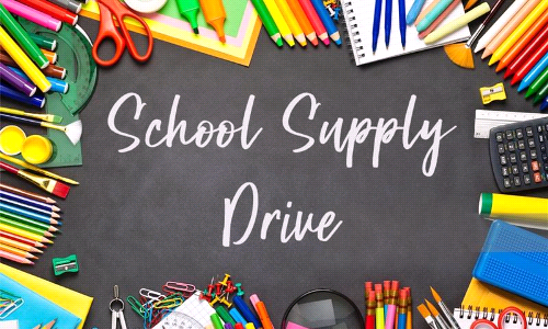Outreach - School Supply Drive